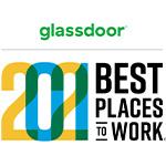 Glassdoor Best Places to Work 2021 Logo