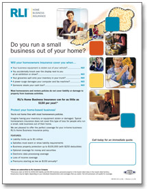 home business insurance consumer brochure