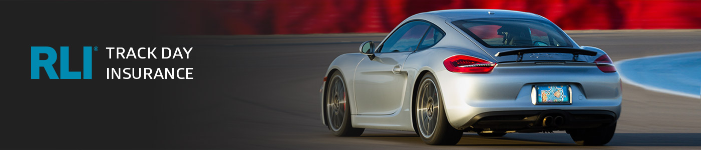 RLI Track Day Insurance for High Performance Drivers Education events