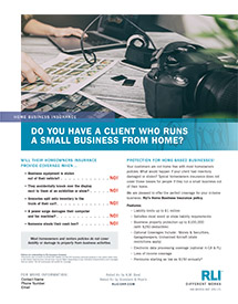 home business insurance photographer agent brochure