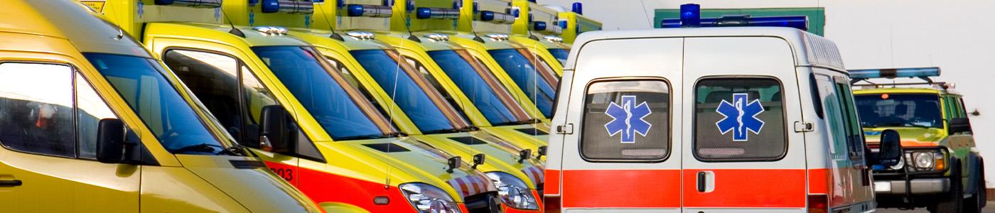 Fleet of Ambulances